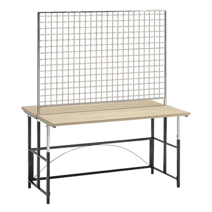 TABLE&CHAIR : マルチテーブル L メッシュスクリーン付背われ