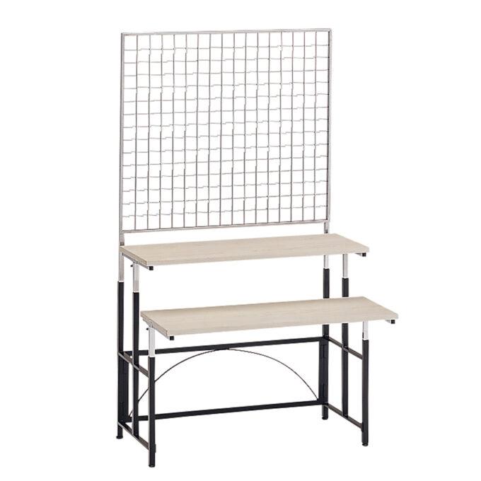 TABLE&CHAIR : マルチテーブル S メッシュスクリーン付ステップ