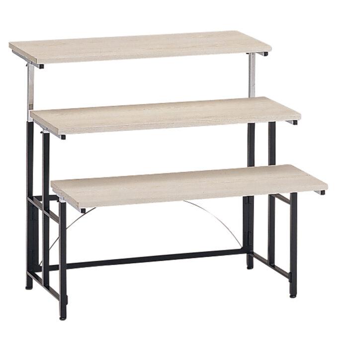 TABLE&CHAIR : マルチテーブル S 3段 H1070セット