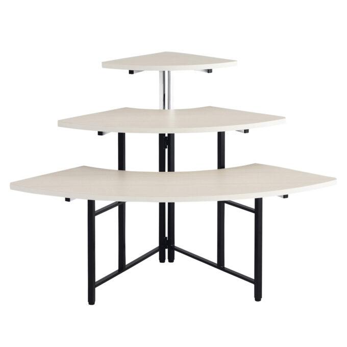 TABLE&CHAIR : マルチコーナーテーブル 白
