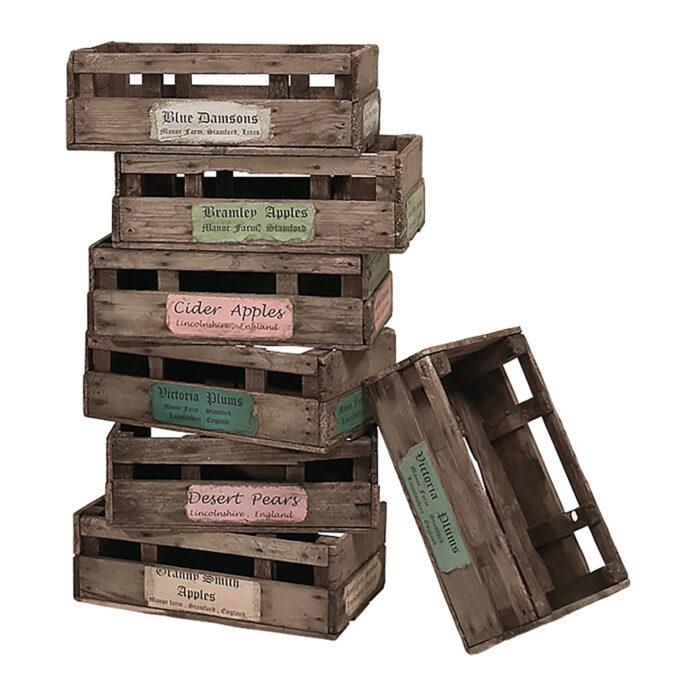 ima vintage : Props-V0095 ウッドボックス