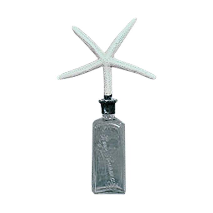 ima vintage : Props-V0209 飾り付きガラス瓶