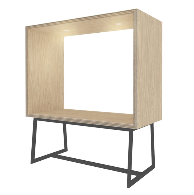 FROM FORM : BOX TABLE ローチェア両面 W1800