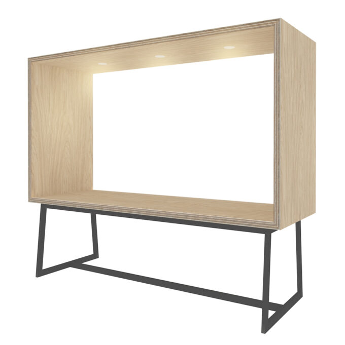 FROM FORM : BOX TABLE ローチェア両面 W2400