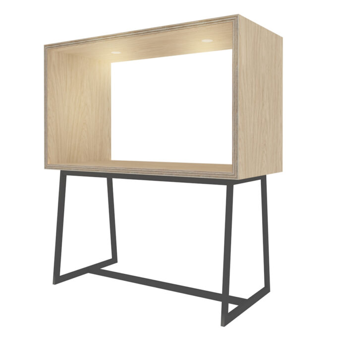 FROM FORM : BOX TABLE ハイチェア両面 W1800