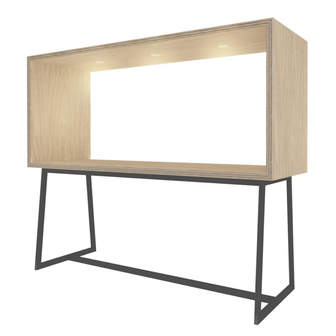 FROM FORM : BOX TABLE ハイチェア両面 W2400