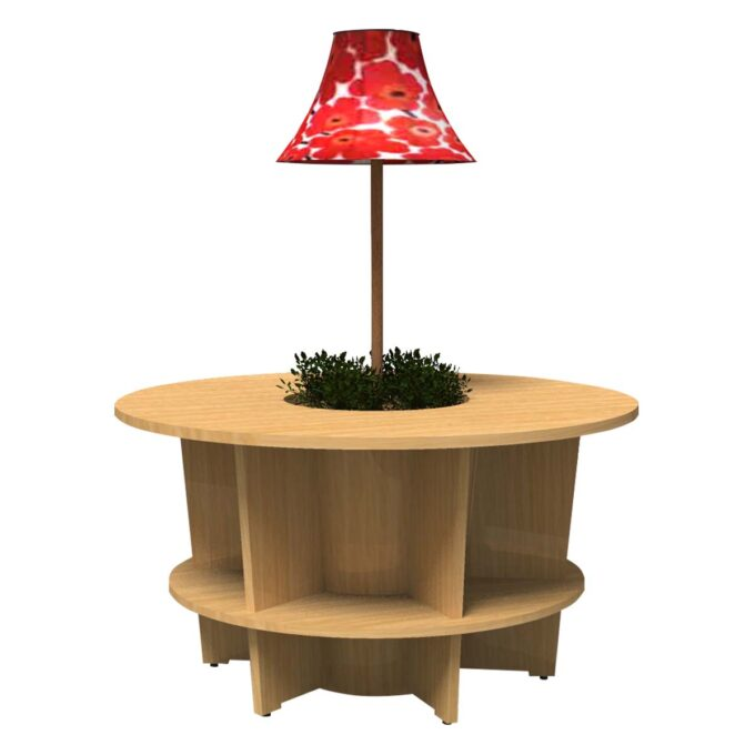 FROM FORM : LAMP SHADE TABLE