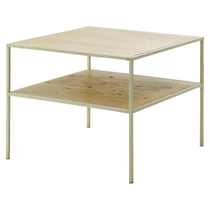 Kasha Table : 2段テーブル アイボリー